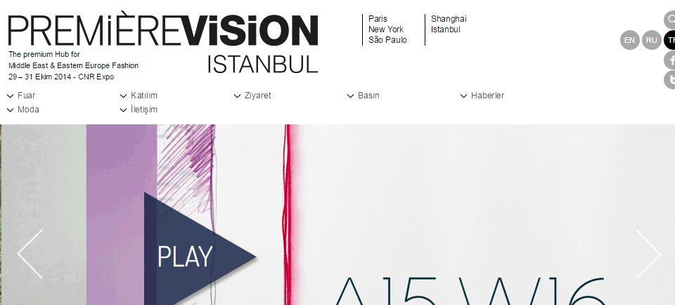 PREMIERE VISION ISTANBUL Fuarı